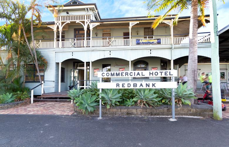 Oonoonba Hotel Townsville And The Commercial Hotel Redbank