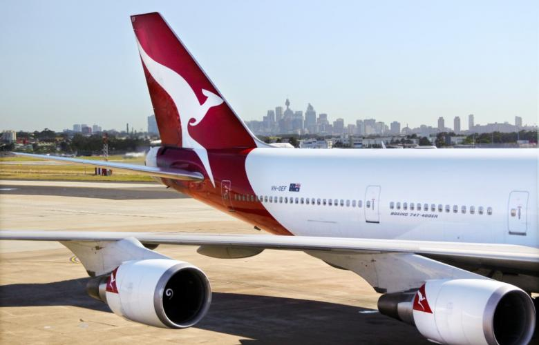 Qantas cuts 90% of global flights following coronavirus outbreak