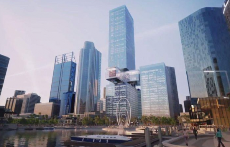 Perths Tallest Building In Twin Tower Development Proposed For
