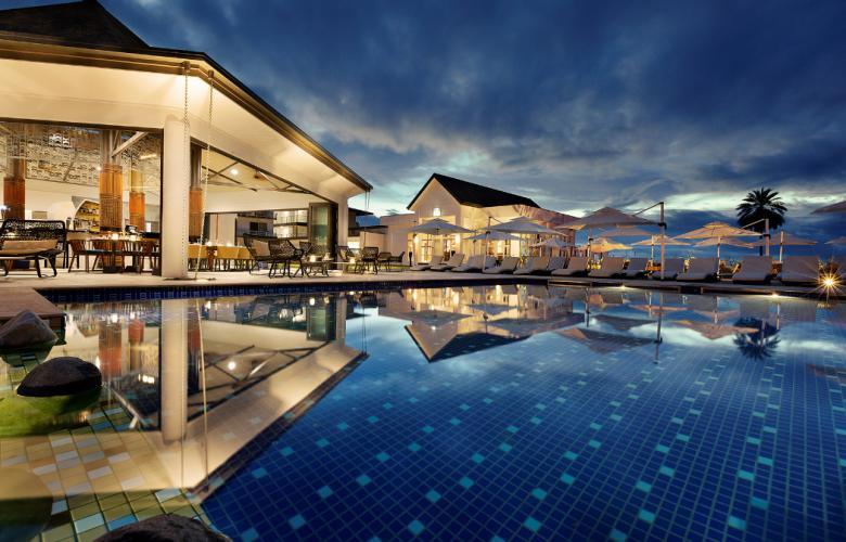 Five-star Pullman Nadi Bay luxury resort and hotel in Fiji